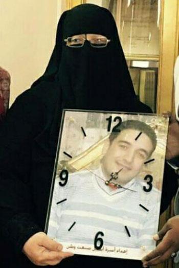 والدة الشهيد محمد صفوت حرب