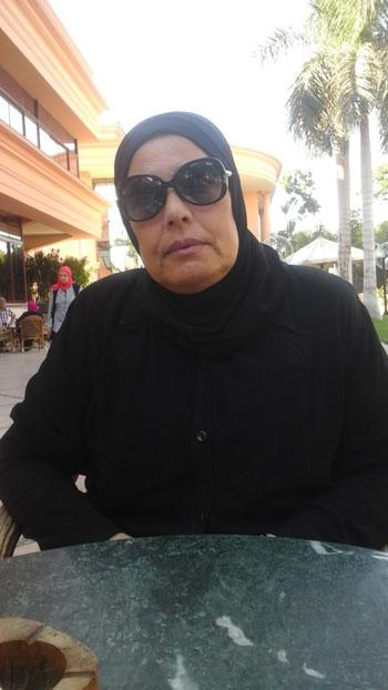 والدة الشهيد محمد أنور لـاليوم السابع  دماء ابنى الذكية ضمتها أرض سيناء (1)