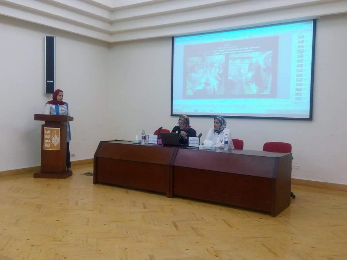 دور المرآة في المجتمع المدني بمركز الإبداع الفني بدمنهور (2)