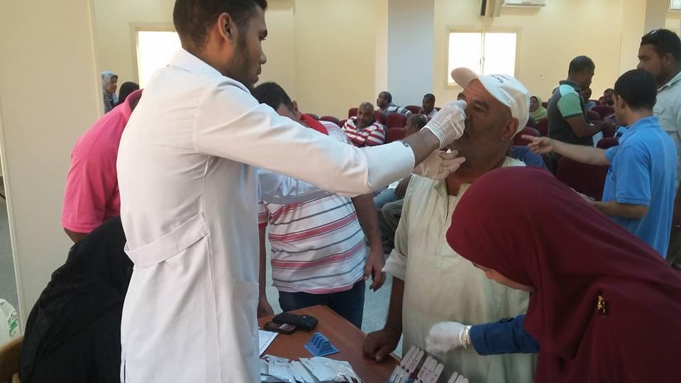 مبادرة لا لفيروس سي بمدينة الطود (1)