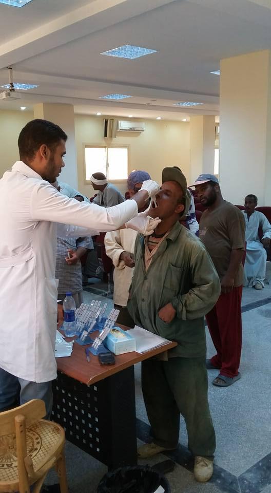 مبادرة لا لفيروس سي بمدينة الطود (4)