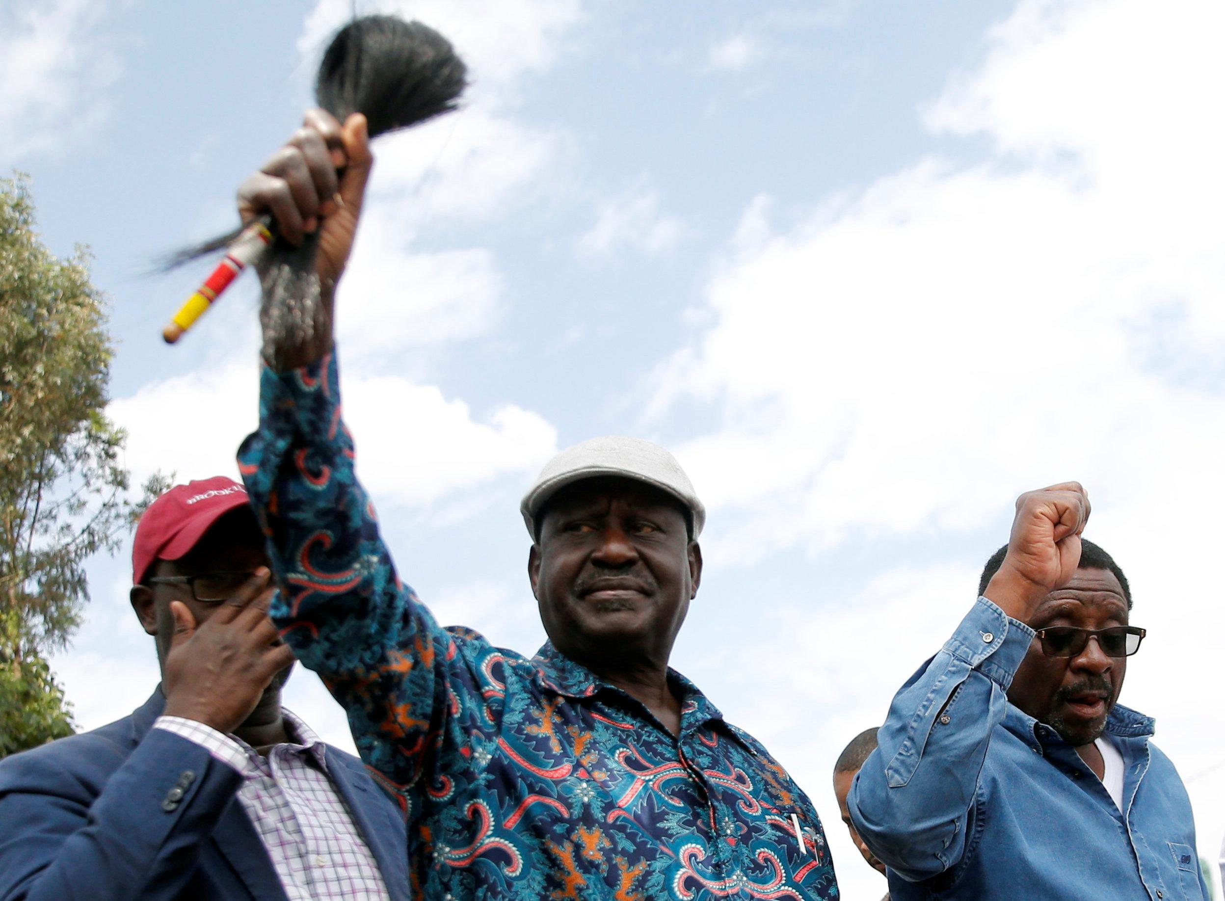زعيم المعارضة الكينية