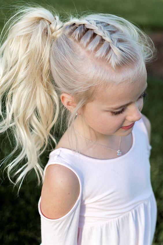 دلعى بنتك تسريحات أطفال مختلفة للشعر الطويل والقصير اليوم السابع