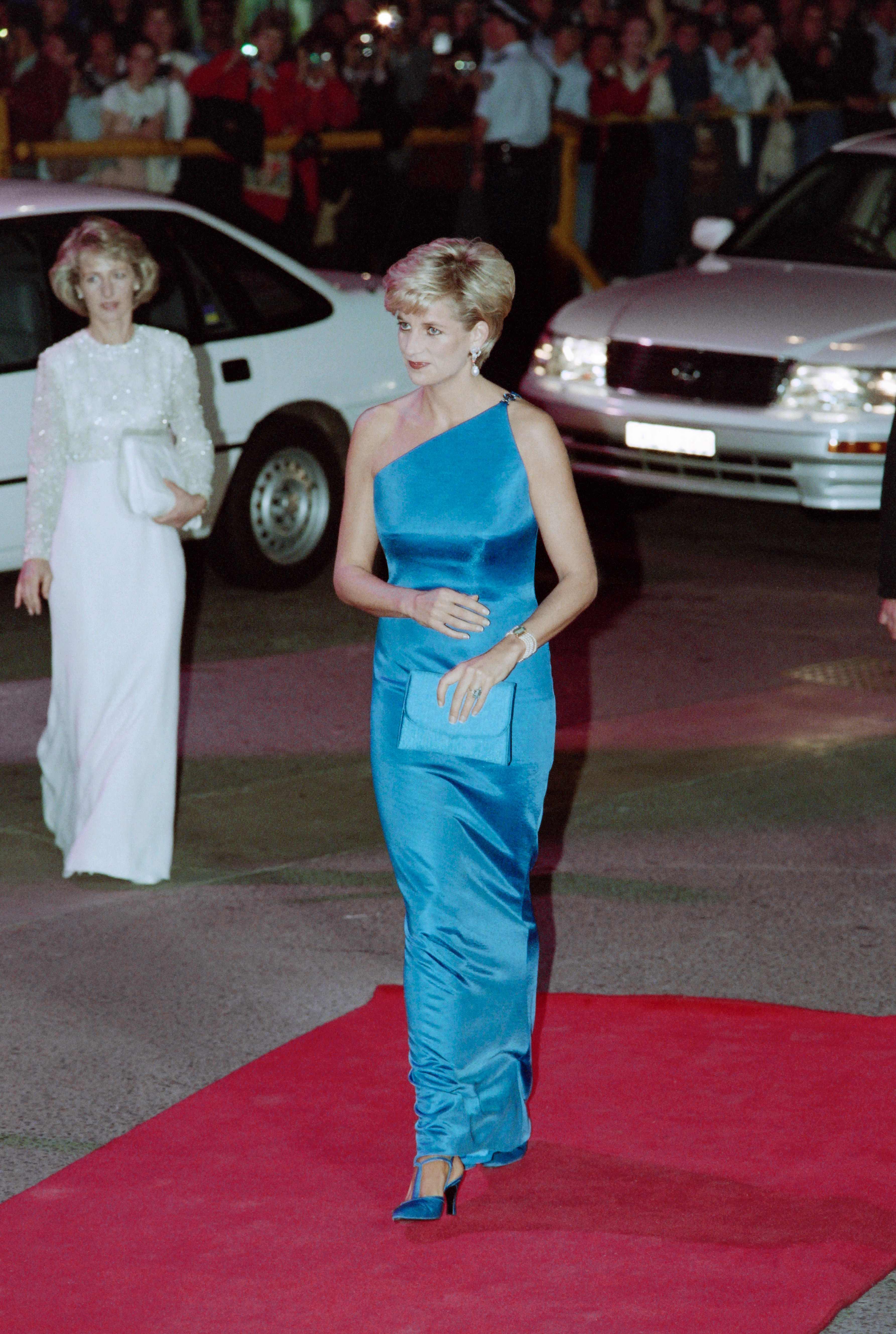 ديانا تزور معهد أبحاث القلب في أستراليا عام 1996