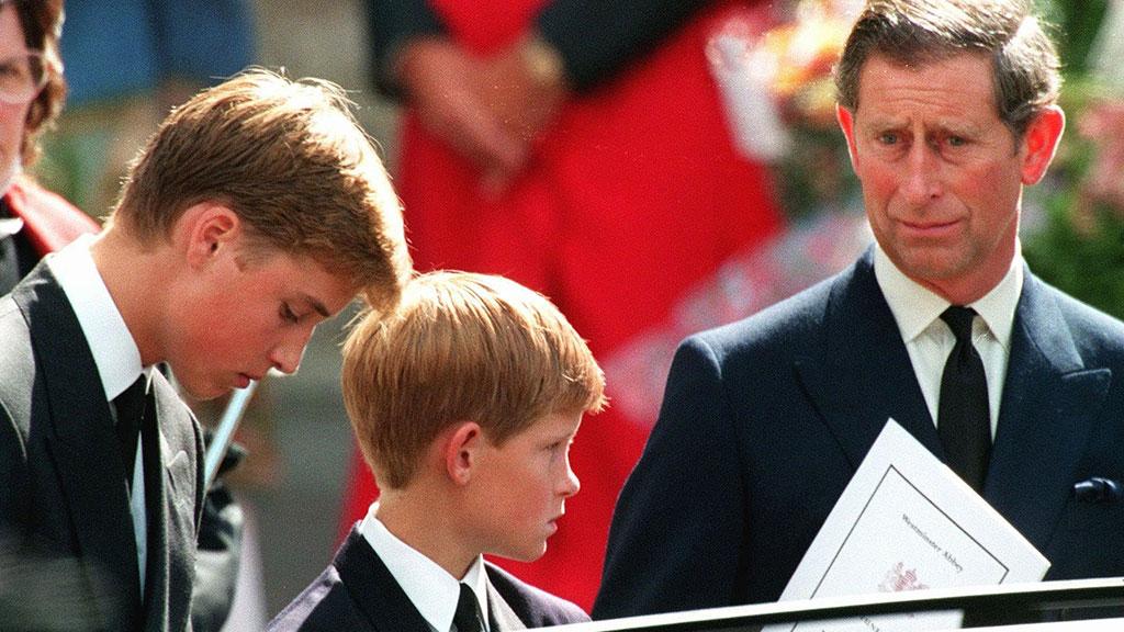 الأمراء الثلاثة فى الجنازة