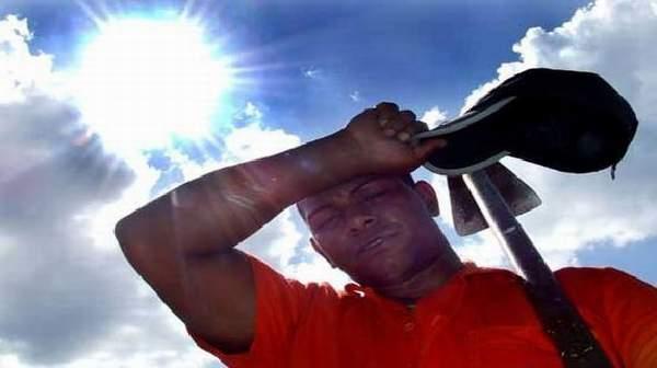 أعراض ضربة الشمس