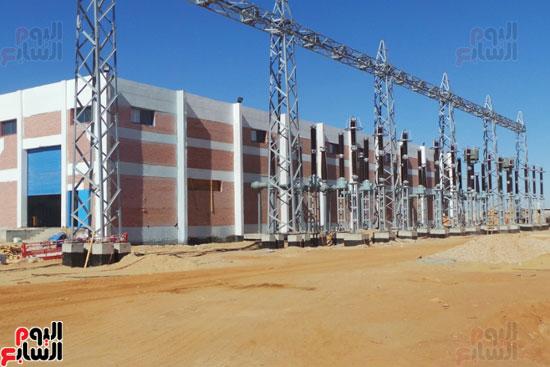 مشروع الطاقة الشمسية فى أسوان