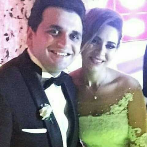 مصطفى خاطر وزوجته