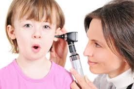تشخيص التهاب الأذن الوسطى