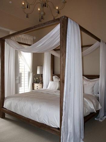 ستائر السرير رجعت تانى استخدمى الناموسية فى غرفة نومك   اليوم السابع