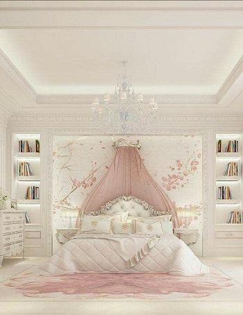 بالصور لعشاق الاختلاف موديلات غرف نوم كلاسيك باللون الأبيض   اليوم