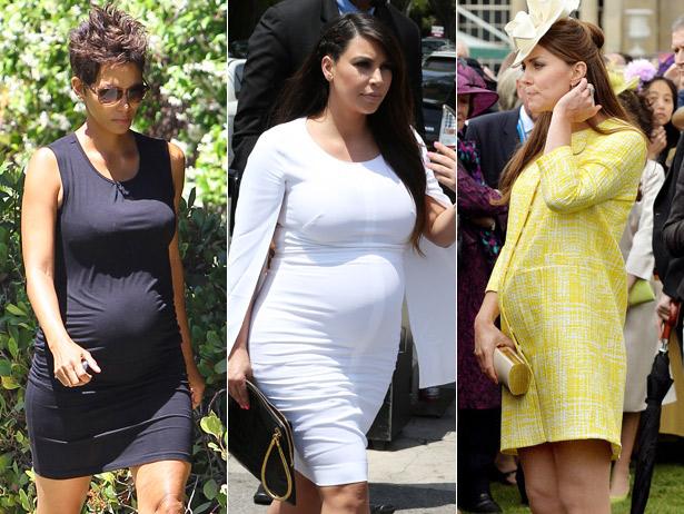 المشاهير خلال الحمل