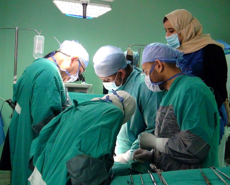 4 جراحات قلب مفتوح لأطفال يعانون من تشوهات بالقلب (1)