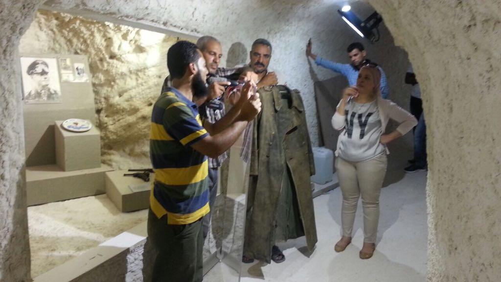 متحف كهف روميل فى مطروح (5)