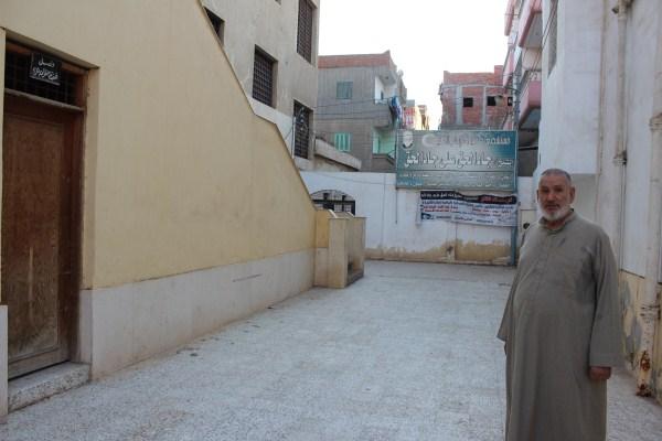 8 باحة مسجد الشيخ جاد الحق