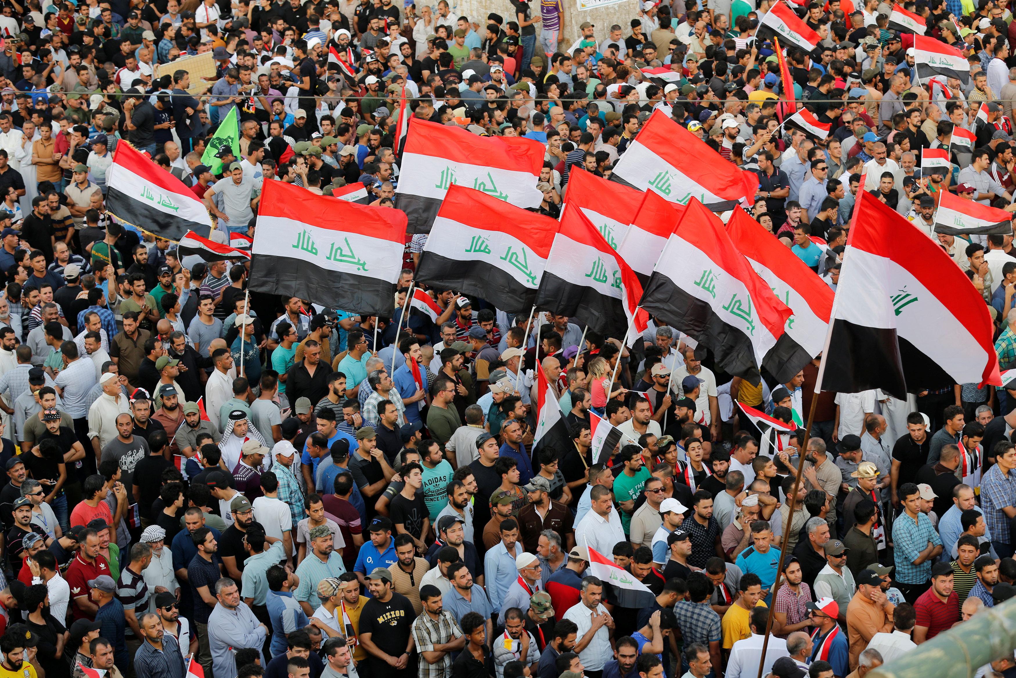 الأعلام العراقية