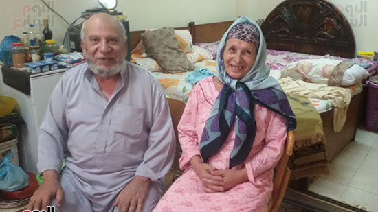 الزوج والزوجة وبسمة أمل الحياة