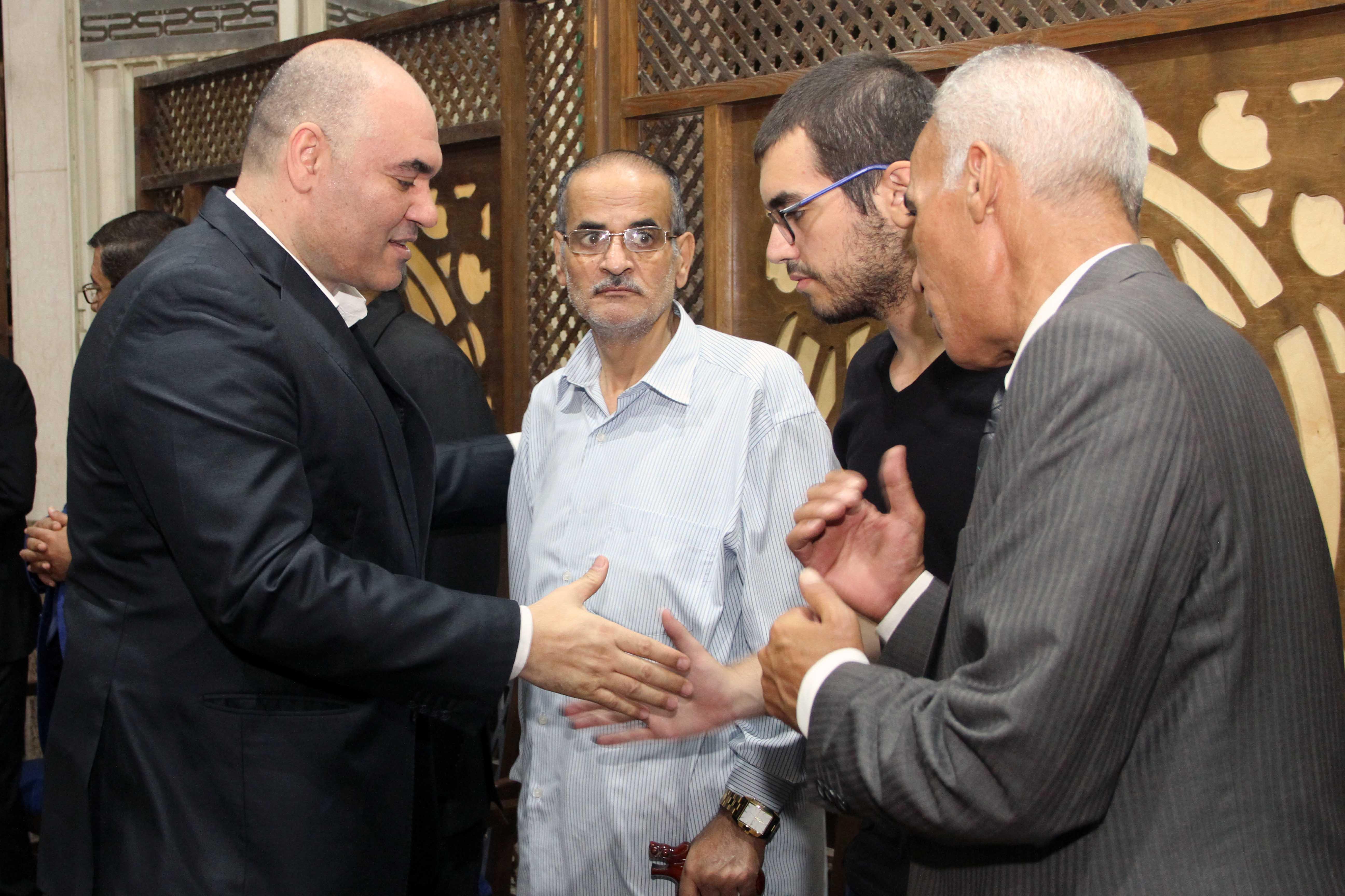 عزاء المخرج الراحل خالد رزق