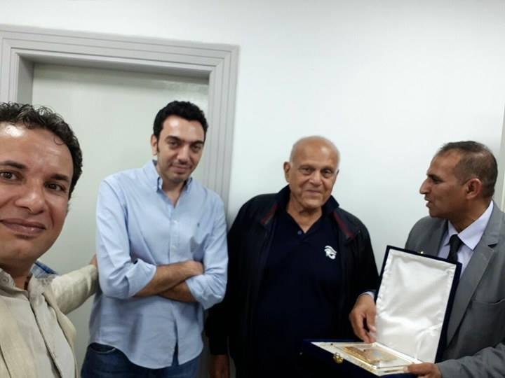 وفد من جامعة أسوان يزورمؤسسة  مجدي يعقوب  للقلب
