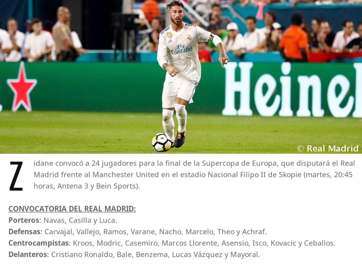 رونالدو ضمن قائمة ريال مدريد المستدعاة للسوبر الاوروبى
