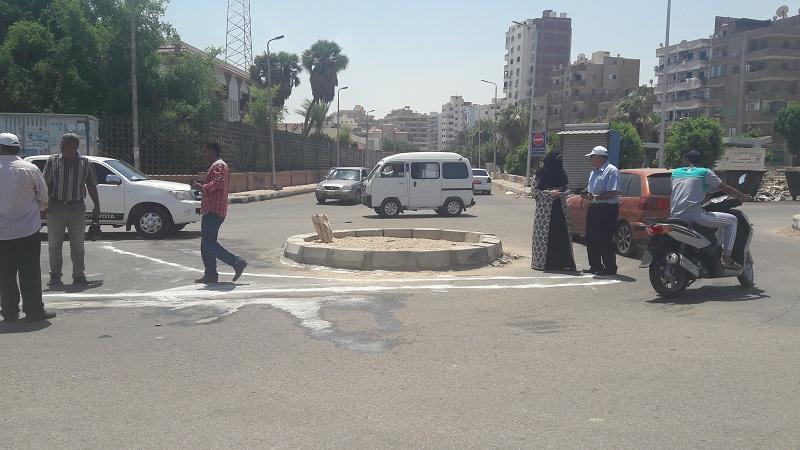 1 - تخطيط الشوارع بالسويس