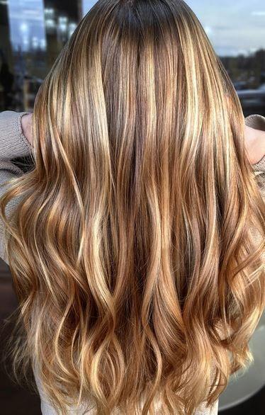 الشعر الأشقر .