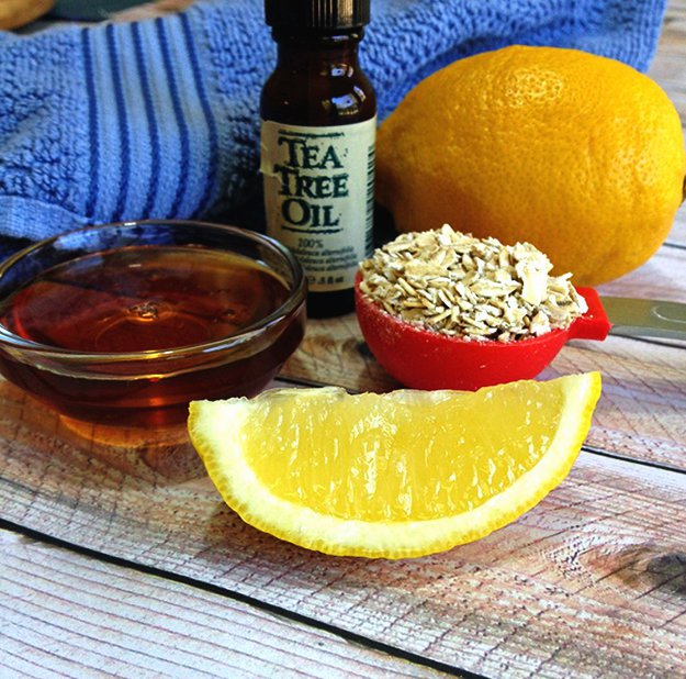 الليمون و العسل للعناية بالبشرة