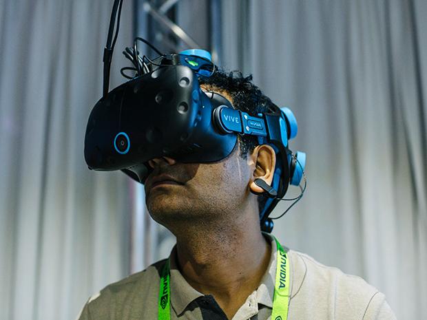 تقنية الواقع الافتراضى
