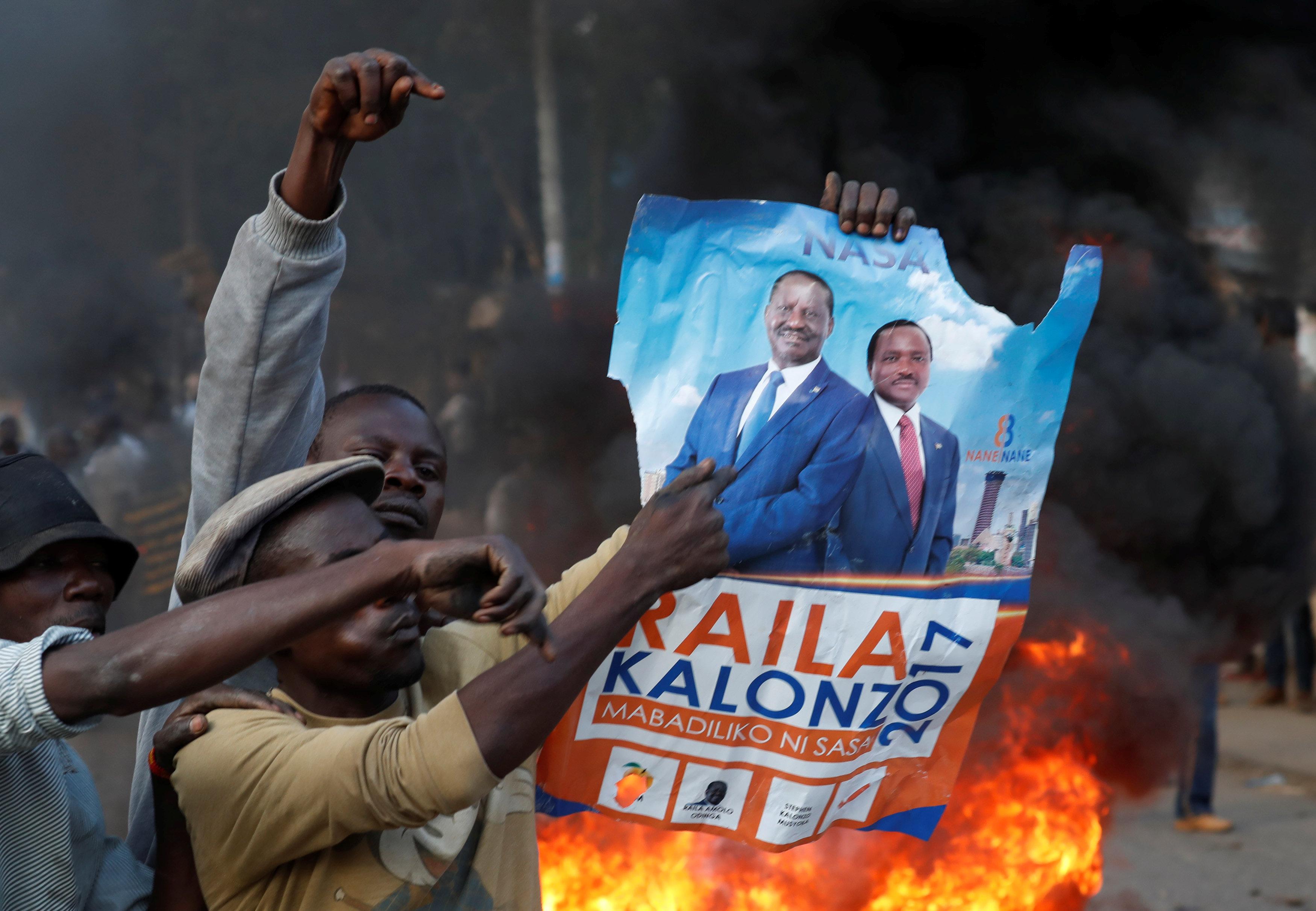 أعمال عنف فى كينيا