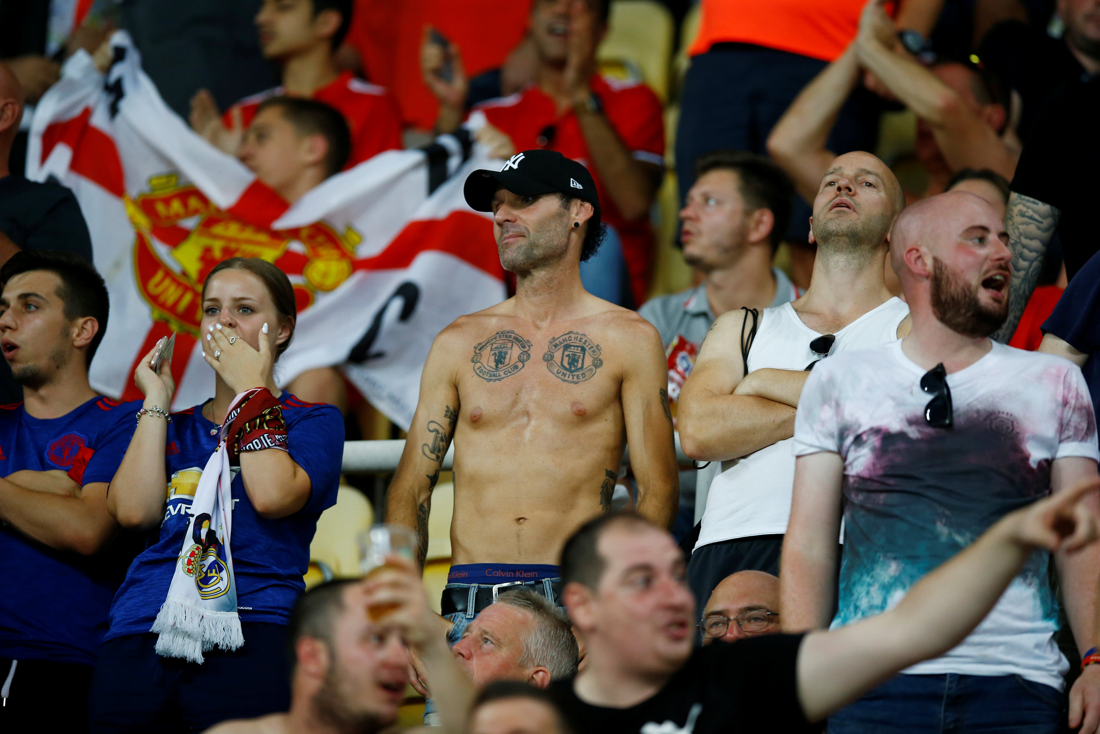 مشجعى مانشستر يونايتد