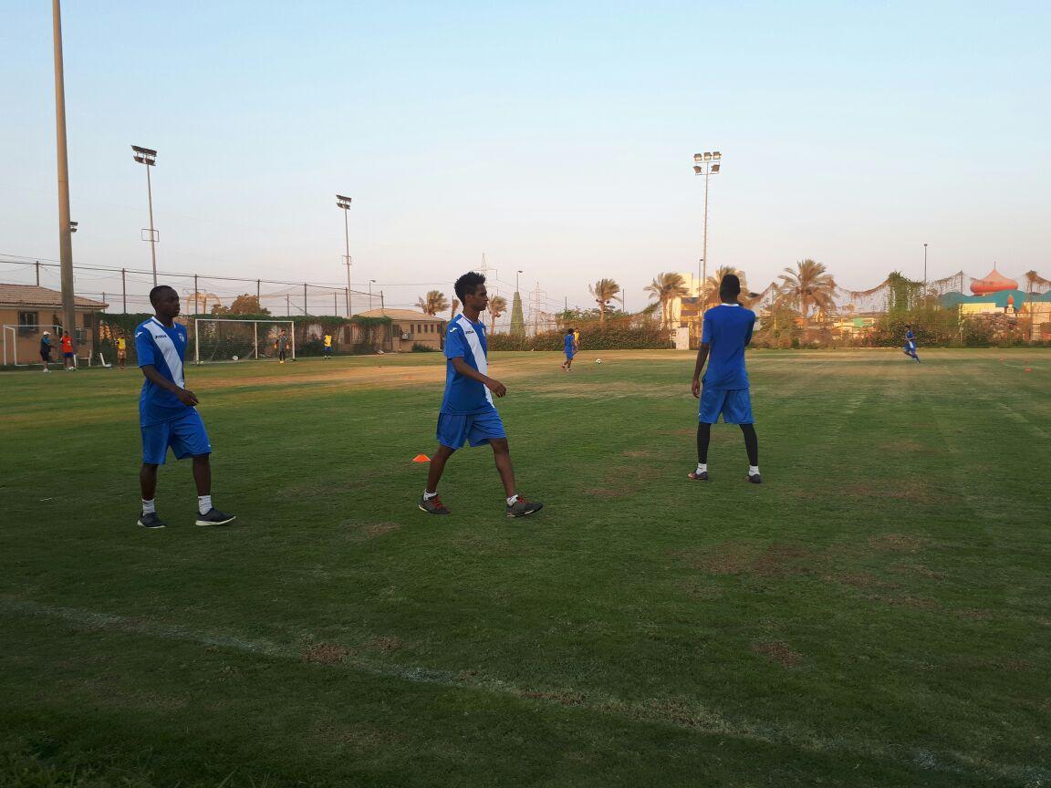 تدريبات نادي جدة السعودي فى اكتوبر