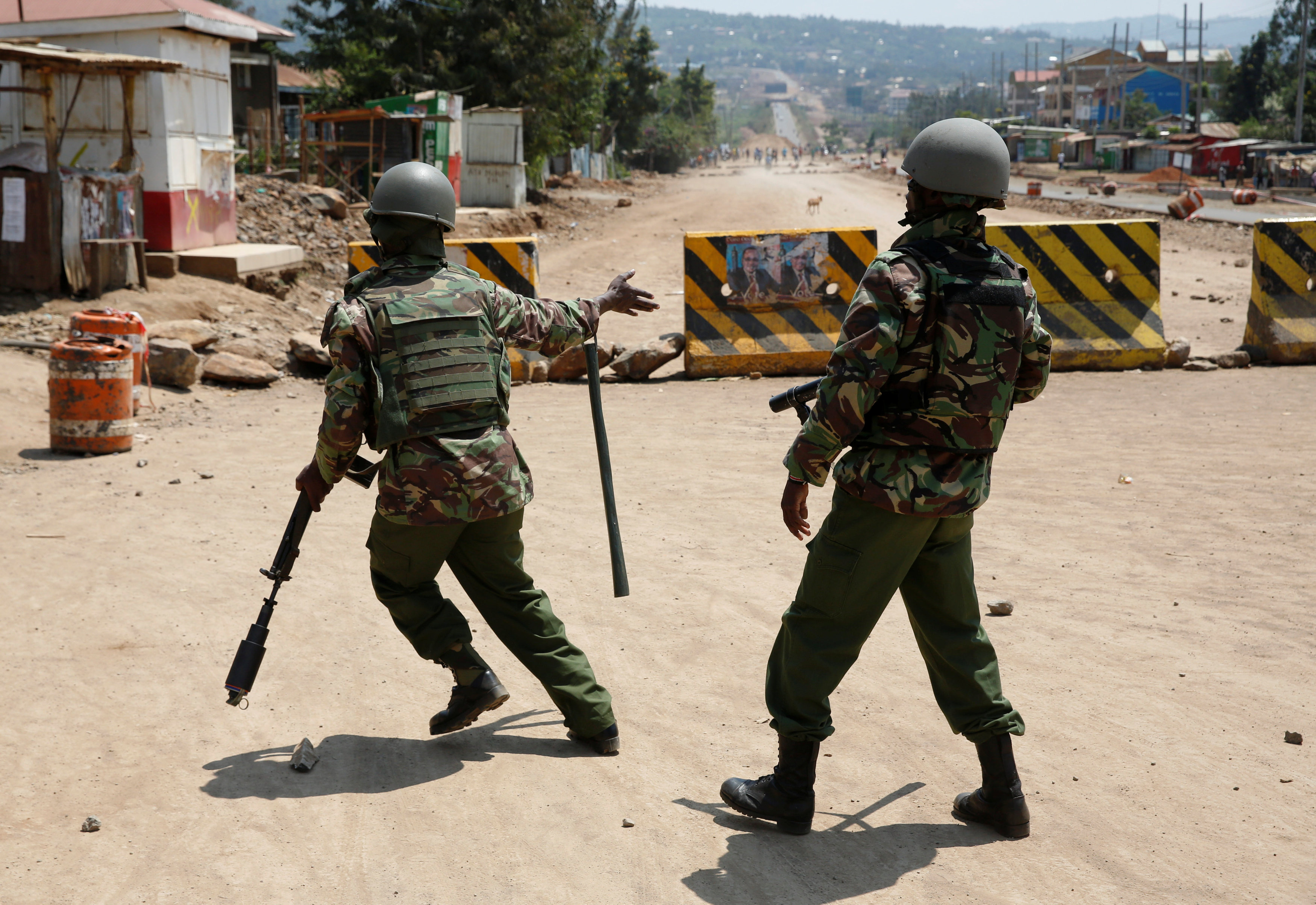 اشتباكات بين متظاهرين وقوات الشرطة الكينية