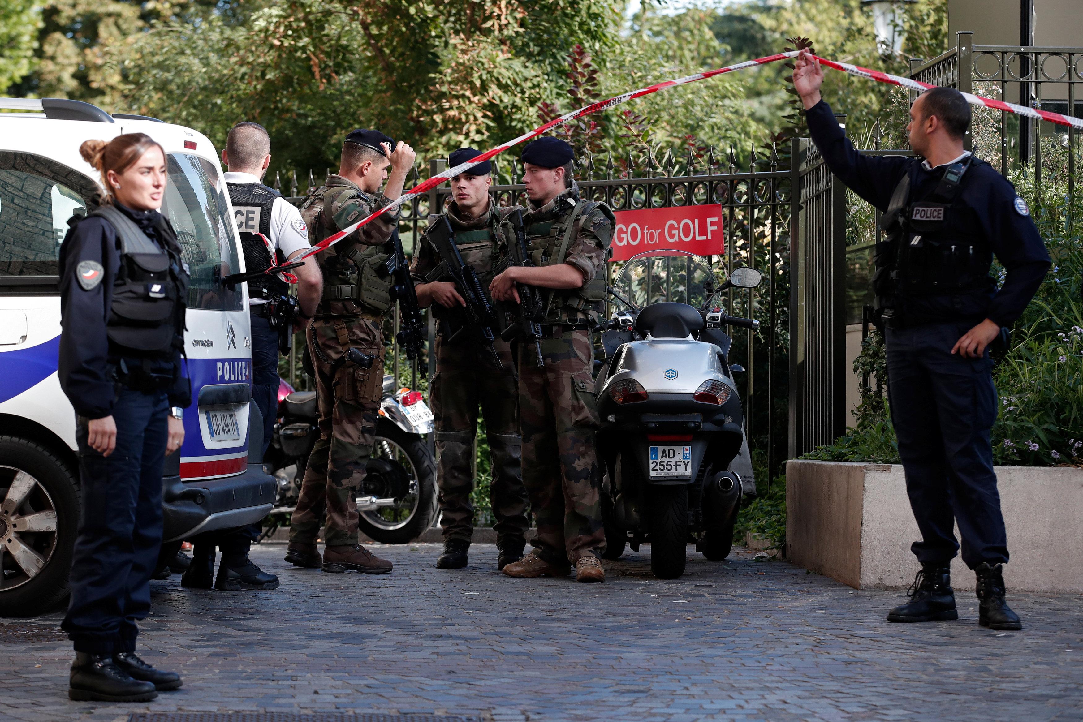 تواجد الشرطة الفرنسية