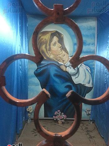 ايقونة-السيدة-العذراء-مريم