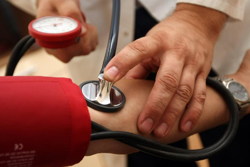تشخيص انخفاض ضغط الدم