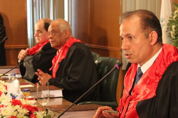 الدكتور على عبد العال رئيس مجلس النواب خلال المناقشة