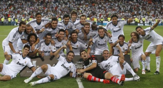 ريال مدريد بطل السوبر الإسبانى