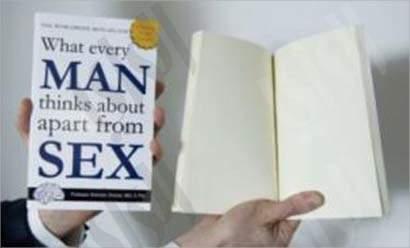 كتاب  الامور التي تشغل تفكير كل رجل الى جانب التفكير في الجنس
