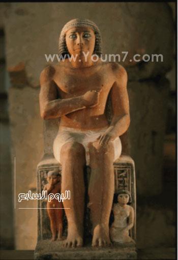 مقتنيات معرض عصر بناة الأهرامات (4)