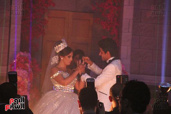 حفل زفاف حمدى الميرغنى وإسراء عبد الفتاح (1)