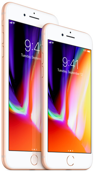 iPhone8plus-and-iPhone8-front