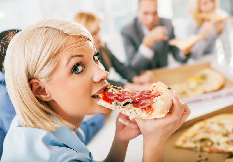 عادات طعامك