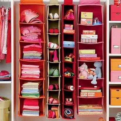 تنظيم ملابس الطفل