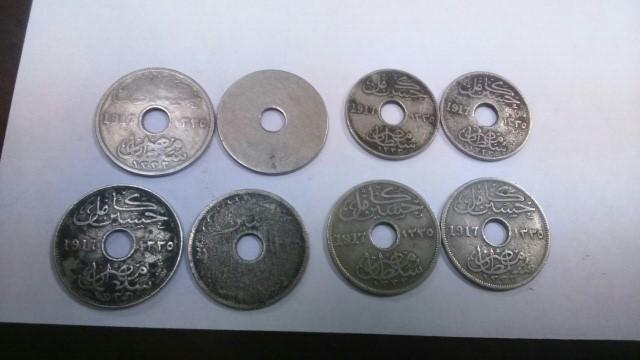 العملات المضبوطة (1)