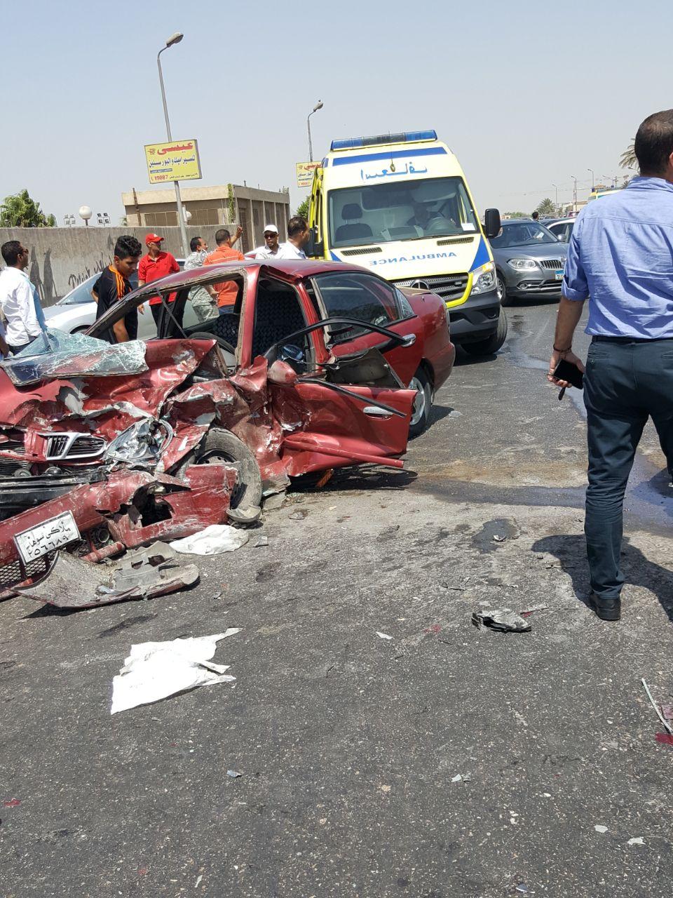 جانب من الحادث (4)