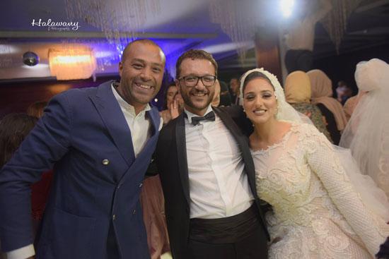 زفاف المخرج محمد شوقى (5)