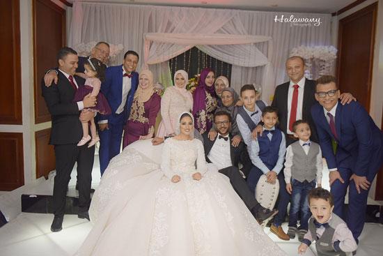 زفاف المخرج محمد شوقى (8)