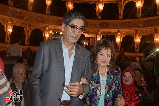 حفل تكريم الفنانة القديرة ليلى طاهر (4)