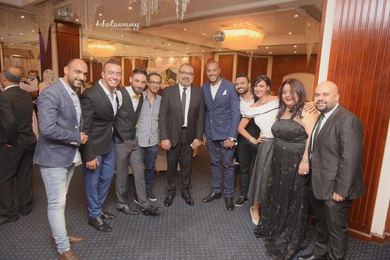 زفاف المخرج محمد شوقى (2)