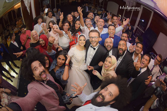زفاف المخرج محمد شوقى (9)